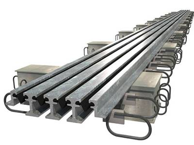 Modular expansion joints have excellent bearing capacity and stability.